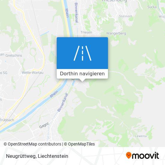 Neugrüttweg Karte