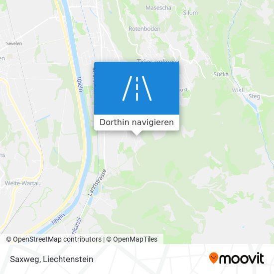 Saxweg Karte