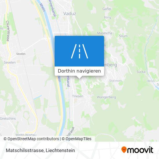 Matschilsstrasse Karte