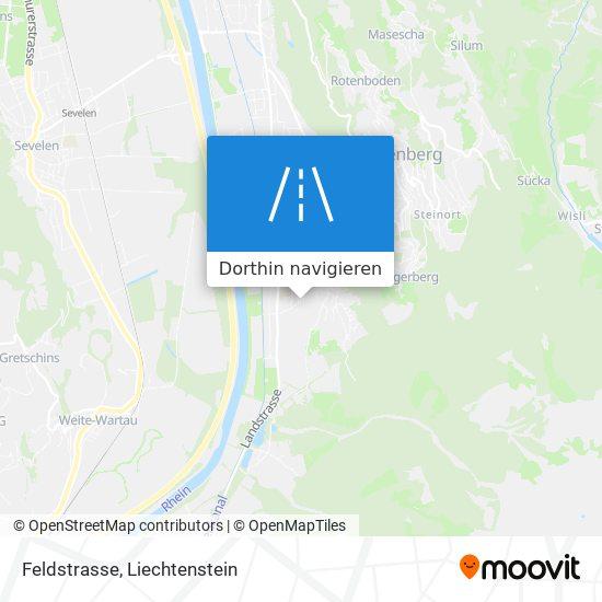 Feldstrasse Karte