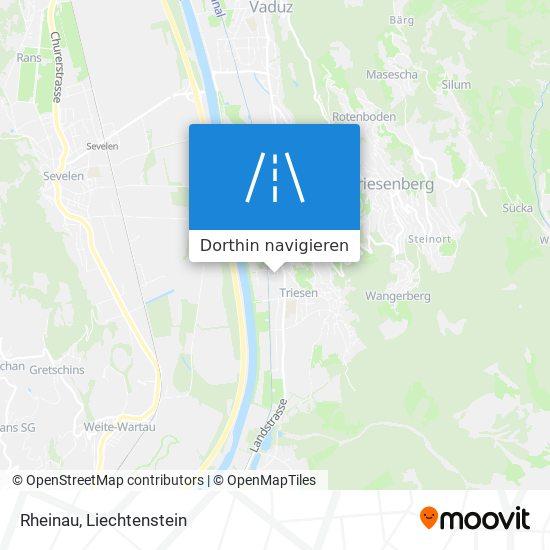 Rheinau Karte
