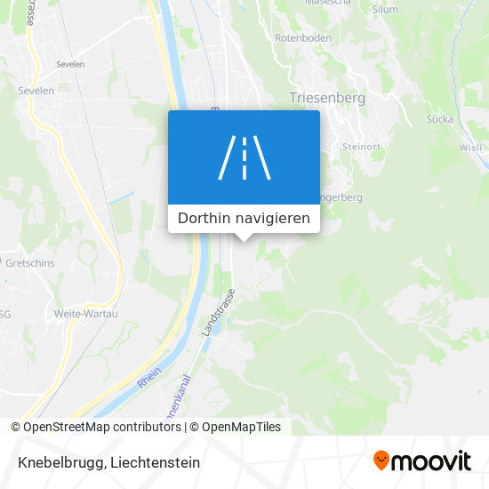Knebelbrugg Karte