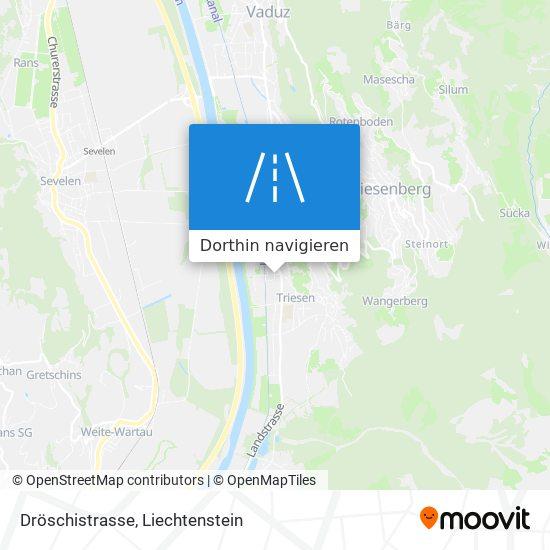 Dröschistrasse Karte