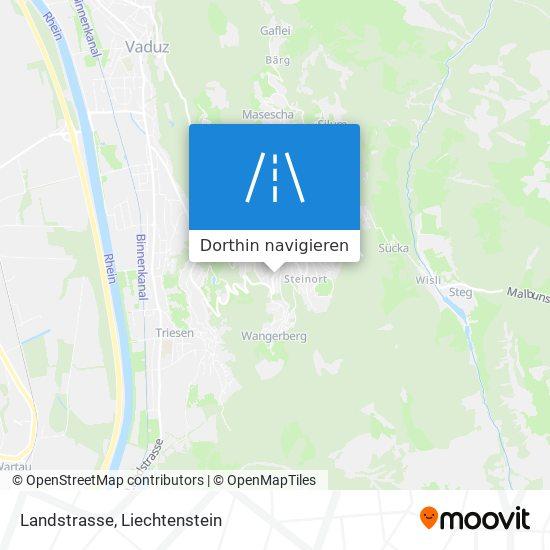 Landstrasse Karte