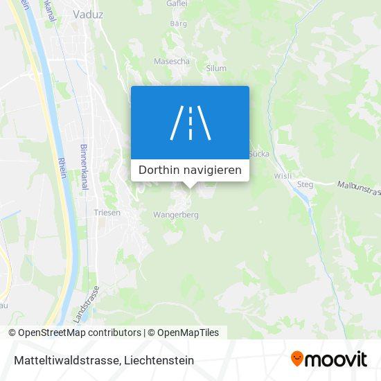 Matteltiwaldstrasse Karte