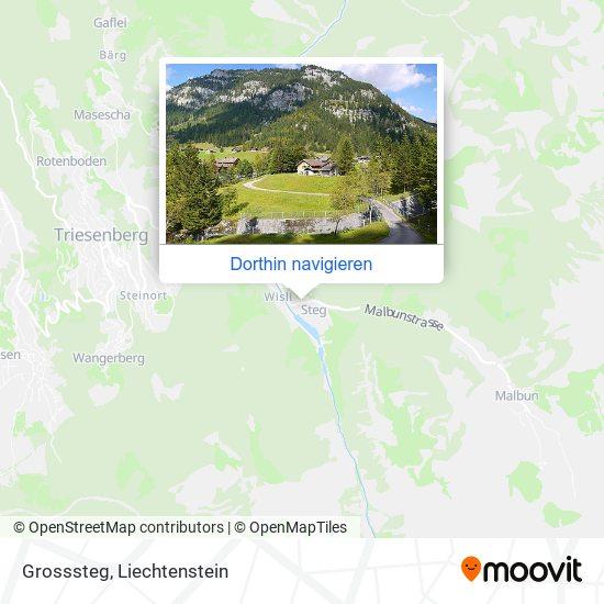 Grosssteg Karte
