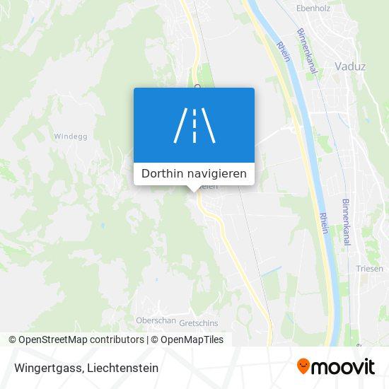 Wingertgass Karte