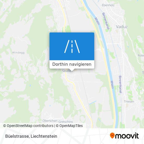 Büelstrasse Karte