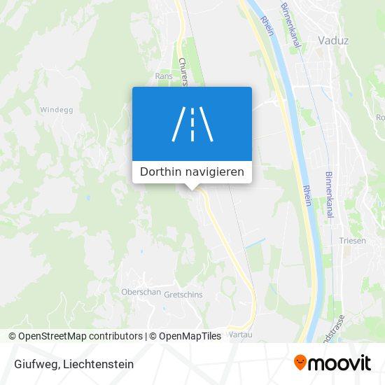 Giufweg Karte