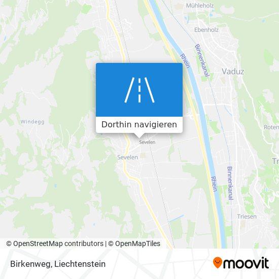 Birkenweg Karte