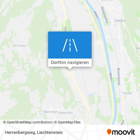 Herrenbergweg Karte
