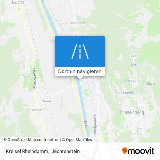 Kreisel Rheindamm Karte
