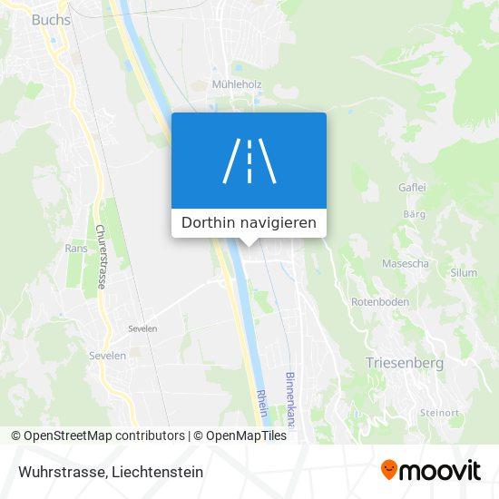 Wuhrstrasse Karte