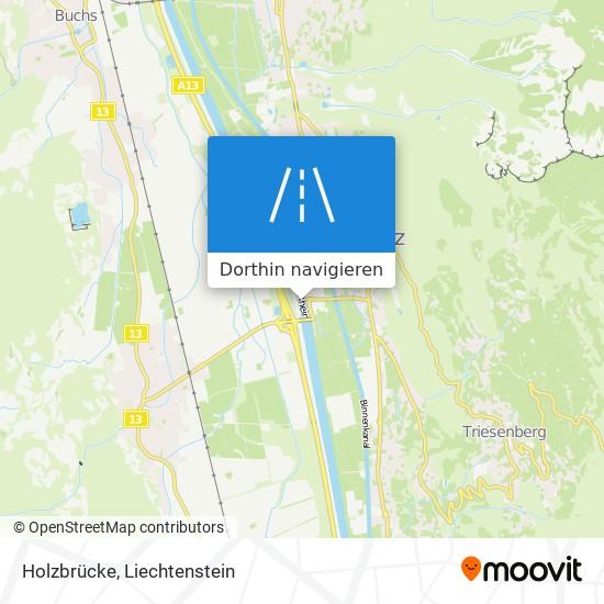 Holzbrücke Karte