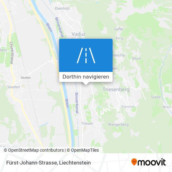 Fürst-Johann-Strasse Karte