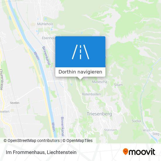 Im Frommenhaus Karte