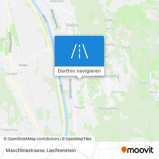 Maschlinastrasse Karte