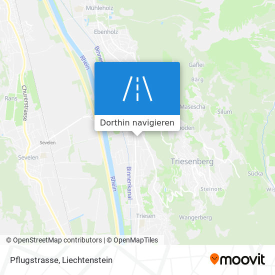 Pflugstrasse Karte