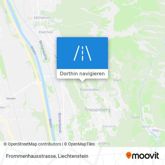 Frommenhausstrasse Karte