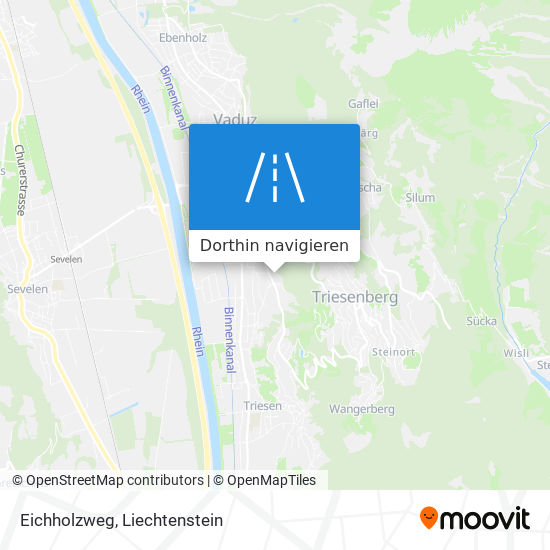 Eichholzweg Karte