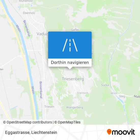 Eggastrasse Karte