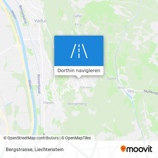 Bergstrasse Karte