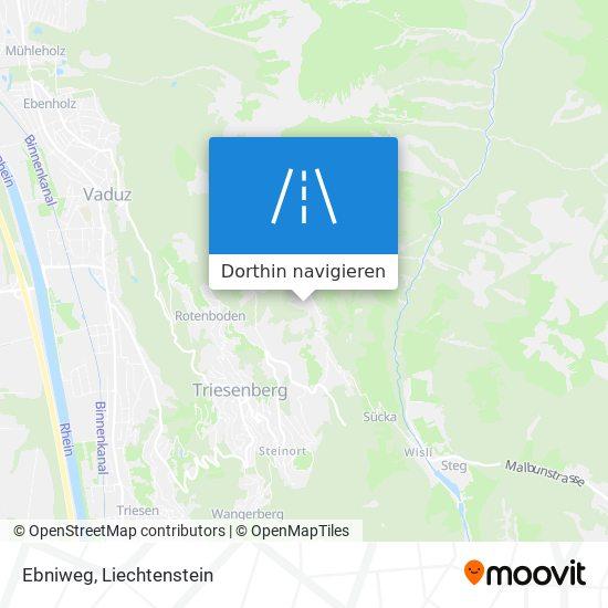 Ebniweg Karte