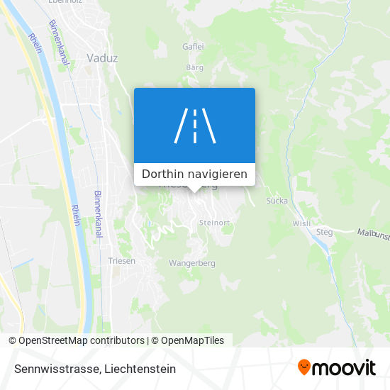 Sennwisstrasse Karte