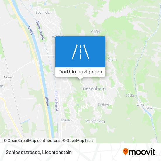 Schlossstrasse Karte