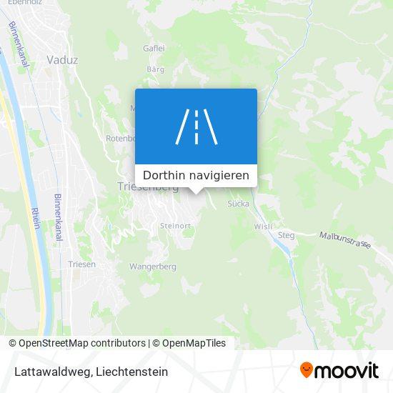 Lattawaldweg Karte