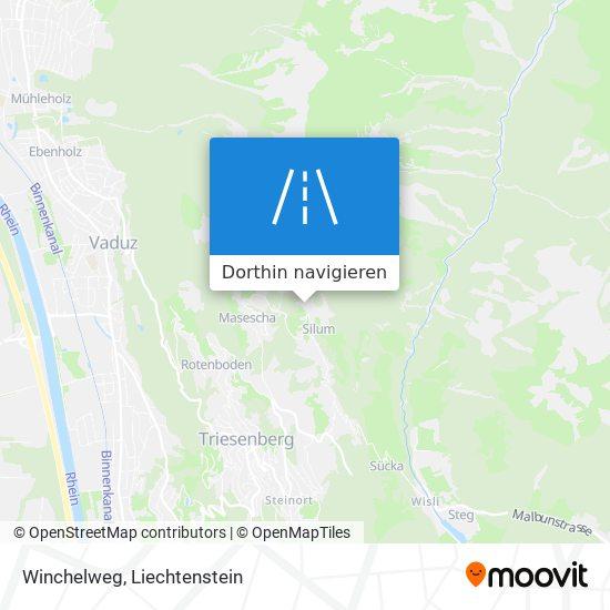 Winchelweg Karte