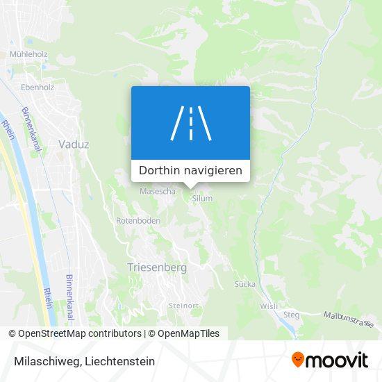 Milaschiweg Karte