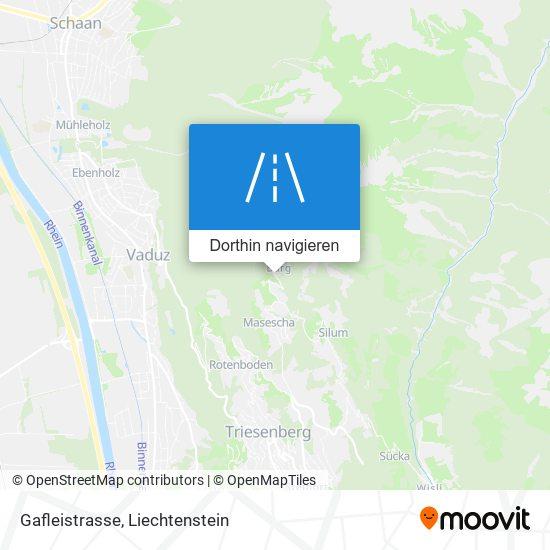 Gafleistrasse Karte