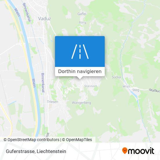 Guferstrasse Karte