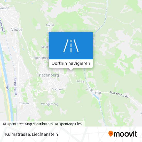 Kulmstrasse Karte