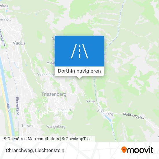 Chranchweg Karte