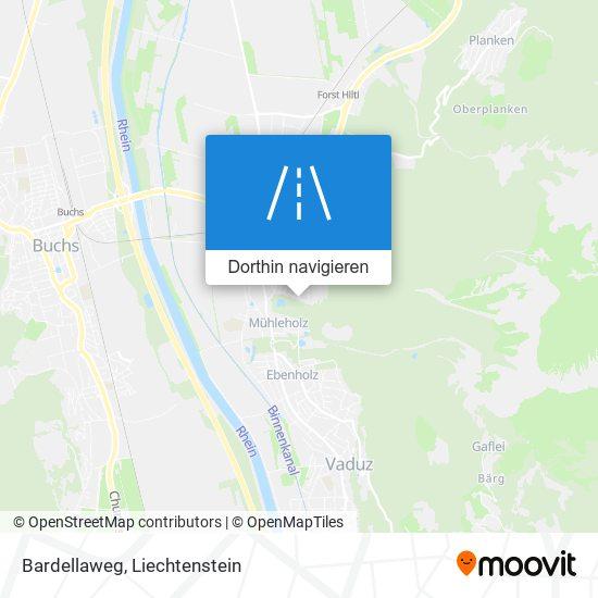 Bardellaweg Karte