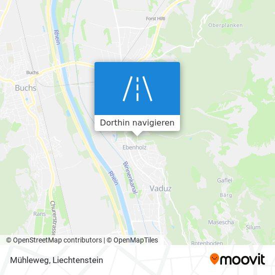 Mühleweg Karte