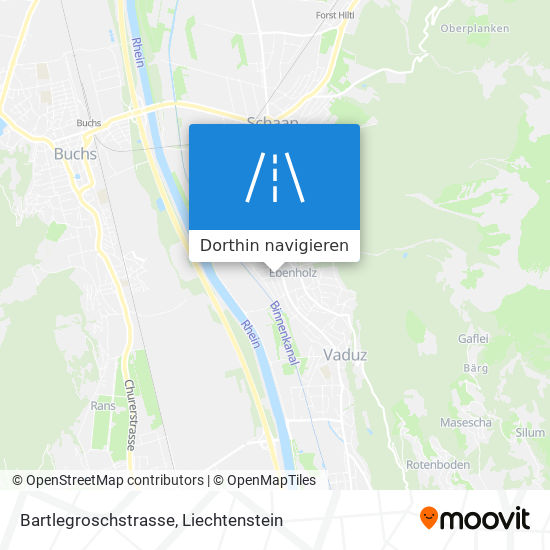 Bartlegroschstrasse Karte