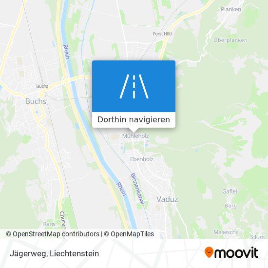 Jägerweg Karte