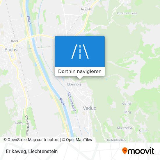 Erikaweg Karte