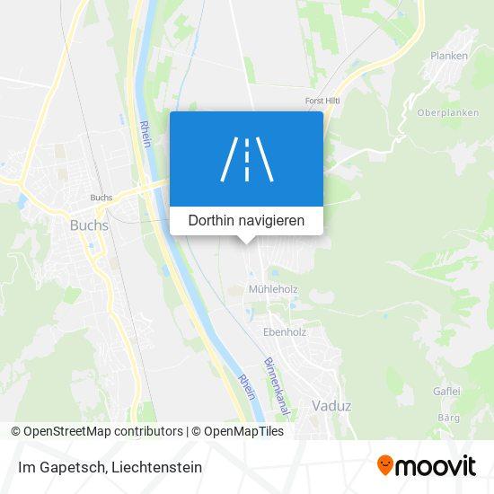 Im Gapetsch Karte