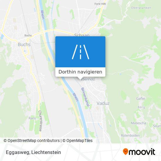 Eggasweg Karte