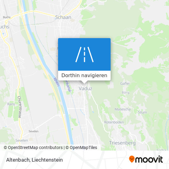 Altenbach Karte