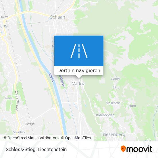 Schloss-Stieg Karte