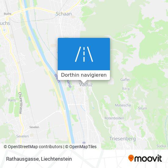 Rathausgasse Karte