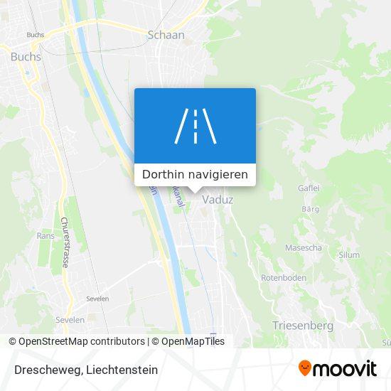 Drescheweg Karte