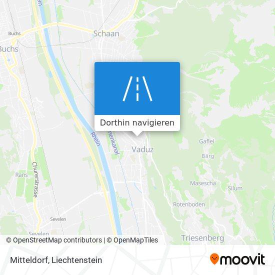 Mitteldorf Karte