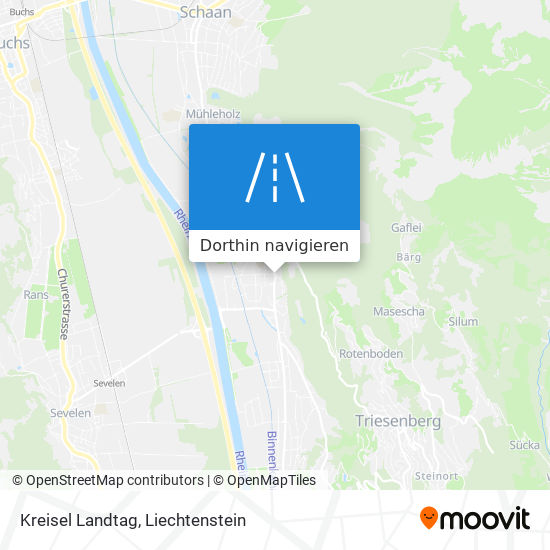 Kreisel Landtag Karte