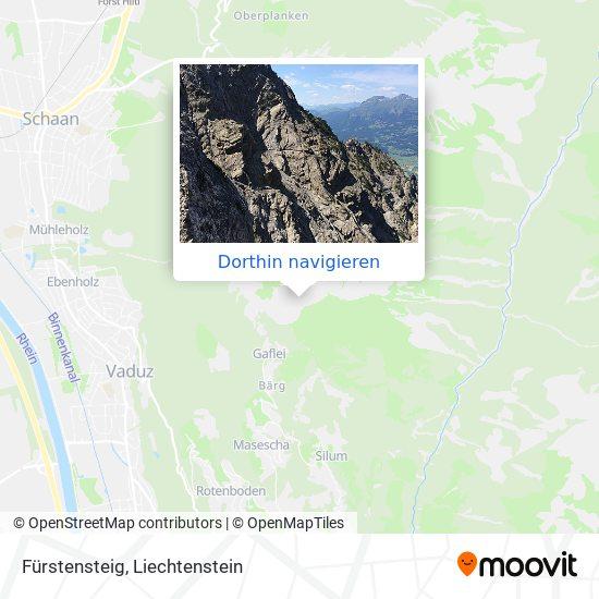 Fürstensteig Karte